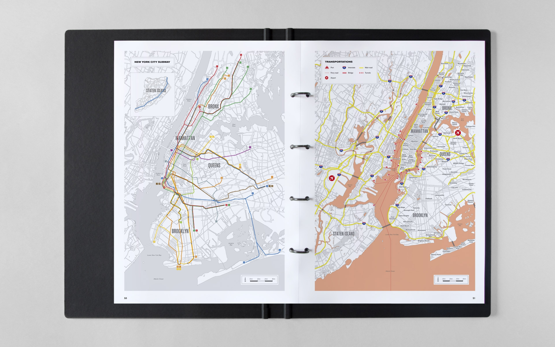 Adrien Chevalier New York City map